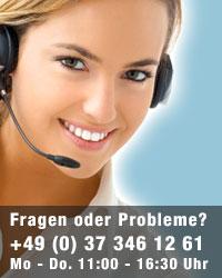 Fragen oder Probleme? Telefon: 0351 - 1609903